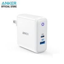 Anker PD PowerPort II PD (30W) with 1PD and 1 PIQ2.0 หัวเสียบชาร์จมือถือ USB จำนวน 2 พอร์ท - White (ประกัน 2 ปี)