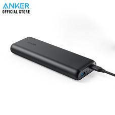 Anker PowerCore Speed 20000 PD (Power Delivery) Powerbank พาวเวอร์แบงค์ แบตสำรองมือถือชาร์จเร็ว รองรับเทคโนโลยี Power Delivery (PD) - Black (ประกัน 2 ปี)