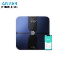 เครื่องชั่งน้ำหนักดิจิตอล Eufy Body Scale Weight Max 1 เชื่อมต่อผ่าน Bluetooth วัดค่าสุขภาพ 12 รายการ - Black