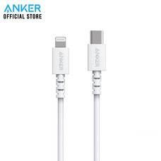 Anker PowerLine Select USB-C To Lightning 3ft (90cm) สายชาร์จเร็วสำหรับไอโฟน - White (ประกัน 2 ปี)