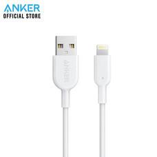 สายชาร์จ Anker Powerline II with lightning connector 90cm (3ft) สายชาร์จไอโฟน - White