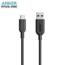 สายชาร์จ Anker Powerline II USB-C to USB 3.1 Gen2 ความยาว 90cm (3ft) สำหรับ Smartphone - Black (ประกัน 2 ปี)