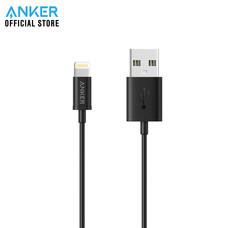 สายชาร์จ Anker MFI USB to Lightning Round Cable 90cm (3ft) สายชาร์จไอโฟน - Black