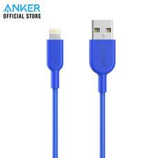 สายชาร์จ Anker Powerline II with lightning connector 90cm (3ft) สายชาร์จไอโฟน - Blue