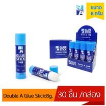 Double A Glue Stick:กาวขนาด 8g.[จำหน่ายแบบ30 แท่งต่อกล่อง]