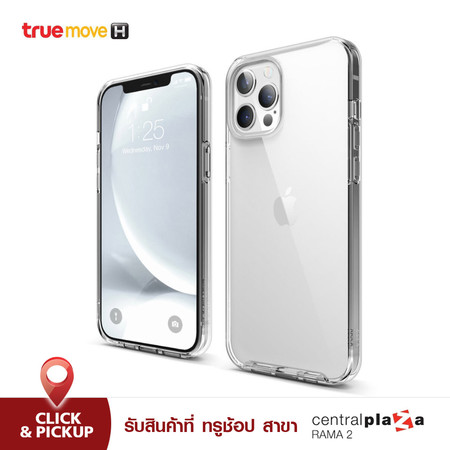 ELAGO เคส สำหรับ iPhone 12 Pro Max Hybrid Clear Case