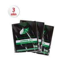 ถุงขยะสีดำ 30x40 cm. Set 3 แพ็ค (1แพ็ค/1kg./12ใบ)