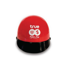 หมวกกันน็อค (สีแดง) 1 ใบ แถมฟรี!! ปลอกแขนกันแดด มูลค่า 100 บาท