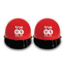 ปลอดภัยไว้ก่อน หมวกกันน็อค(สีแดง) 2 ใบ แถมฟรี!! ปลอกแขนกันแดด มูลค่า 100 บาท