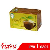 "Gingen ""จินเจน"" เครื่องดื่มชนิดซองแช่ ชาอูหลงผสมขิง ขนาด 40 กรัม (20ซอง x 2กรัม) (แพค 1 กล่อง)"