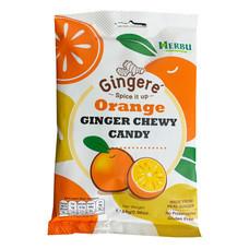 Ginger Candy ลูกอมขิง รสส้ม 64 กรัม