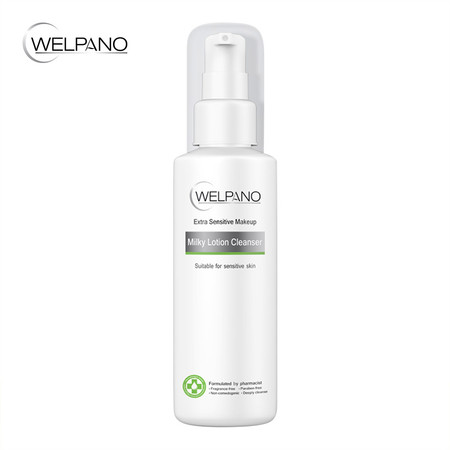 Welpano Extra Sensitive Makeup Milky Lotion Cleanser 100 มล.