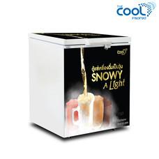 The Cool ตู้แช่เครื่องดื่มเป็นวุ้น SNOWY A LIGHT 150 ความจุ 5.4คิว (50ขวด)