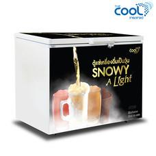The Cool ตู้แช่เครื่องดื่มเป็นวุ้น SNOWY A LIGHT 300 ความจุ 10 คิว (96ขวด)