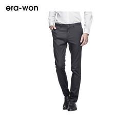 era-won กางเกงสแลค  รุ่น WORKDAY LIGHT WEIGHT ทรง Skinny Fit - สีดำ Black