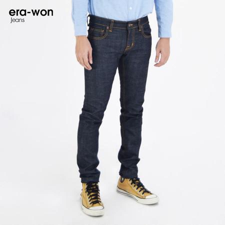 era-won กางเกงยีนส์ รุ่น JEANS DENIM ทรง Ultra Skinny - สีกรมเข้ม Original 80