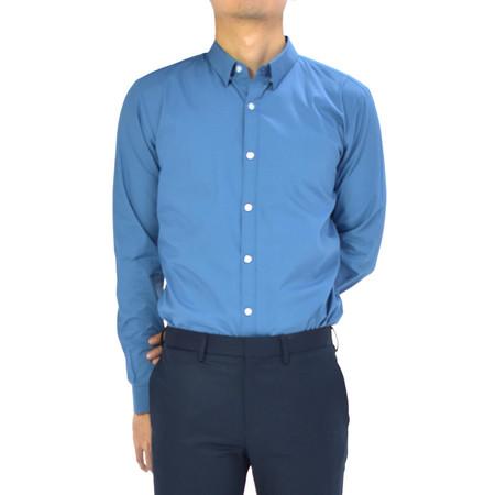 era-won เสื้อเชิ๊ต รุ่น SUPER SHIRT ทรง Slim - สีฟ้า Fall Sky