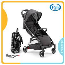 Pali Magic 2 รถเข็นเด็ก รถเข็นพับอัตโนมัติ *แถมฟรี* 4 รายการ กระเป๋าใส่รถเข็น ,ที่รองเเก้ว ,มุ้งกันยุง , ที่กันฝน