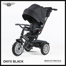 Bentley Tricycle รถเข็นและจักรยานสามล้อ เเถมรถขาไถ (Ride On Car) + ที่รองเเก้วน้ำ แบรนด์ลิขสิทธิ์แท้