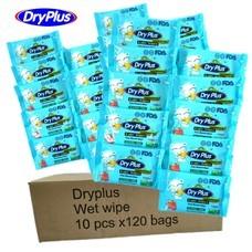 ทิชชู่เปียกดรายพลัส Dry Plus Pro ห่อเล็กยกลัง ( 1 ลังได้สินค้า 120 แพค )