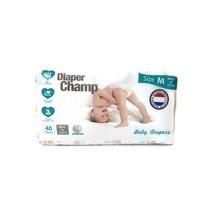 ผ้าอ้อมสำเร็จรูป Diaper Champ ชนิดเทป Size M ( 6 -11 กก) 40 ชิ้นต่อแพค