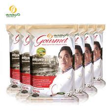 พนมรุ้ง กูร์เมต์ ข้าวหอมมะลิใหม่ 100% ต้นฤดู ขนาด 5 กก. จำนวน 6 ถุง **ส่งเฉพาะในกรุงเทพฯ และปริมณฑล**