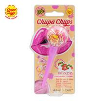 Chupa Chups ลิปกลอส กลิตเตอร์ สตรอว์เบอร์รี่ครีม