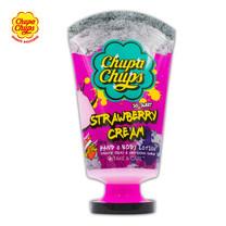 Chupa Chupsครีมบำรุงมือ&ผิวกาย สตรอว์เบอร์รี่ขนาด 120มล.