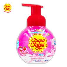 Chupa Chups Head To Toeโฟมอาบน้ำ + สระผม กลิ่นStrawberry Milky ขนาด 350มล.