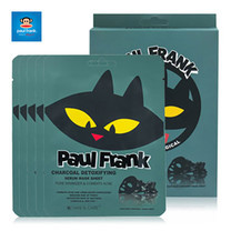 PAUL FRANK CHARCOAL DETOXIFYING SERUM MASK SHEET (SET 5แผ่น)เซรั่มมาส์กชีท ชาโคล