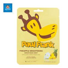 PAUL FRANK PINEAPPLE BRIGHTENING SERUM MASK SHEETเซรั่มมาส์กชีท พายแอปเปิ้ล