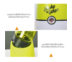 JOWSUA Juicer Blender เครื่องปั่นสมูทตี้ (Yellow)