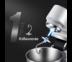 JOWSUA เครื่องผสมอาหารอเนกประสงค์ เครื่องตีแป้ง เครื่องตีไข่ นวดแป้ง กำลังไฟ 1000 วัตต์ หัวตี 3 แบบ ความจุ 4.5 ลิตร 8 ระดับ STAND MIXER สีดำ