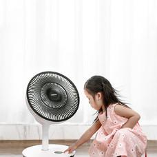 DAEWOO พัดลม Circular พลังลมสูง ปรับระดับได้ พัดลม มีรีโมท