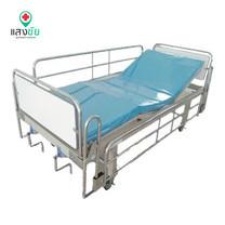เตียงผู้ป่วยมือหมุนสองไกร์โรงพยาบาล 2