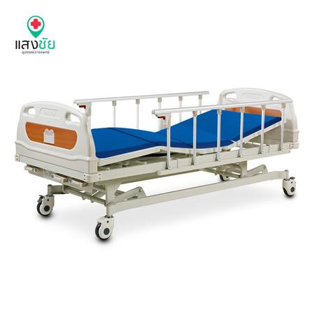 เตียงผู้ป่วยมือหมุนสามไกร์คลาสลิก 2 (ต่ำพิเศษ)
