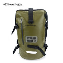 Stream Trail กระเป๋าเป้กันน้ำ รุ่น Dry Tank 40L D2 - สีเขียวขี้ม้า OD