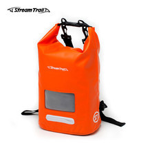 Stream Trail กระเป๋ากันน้ำ รุ่น Dry Cube 10L - สีส้ม Fire