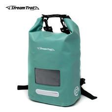 Stream Trail กระเป๋ากันน้ำ รุ่น Dry Cube 10L - สีเขียวมรกต Emerald