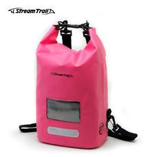 Stream Trail กระเป๋ากันน้ำ รุ่น Dry Cube 10L - สีชมพู Rosy