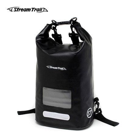 Stream Trail กระเป๋ากันน้ำ รุ่น Dry Cube 10L - สีดำ Onyx
