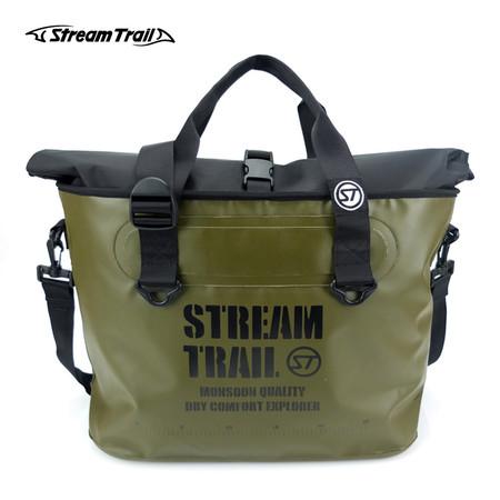 Stream Trail กระเป๋ากันน้ำ รุ่น Marche DX-1.5 - สีเขียวขี้ม้า OD