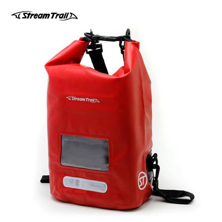Stream Trail กระเป๋ากันน้ำ รุ่น Dry Cube 10L - สีแดง Chilli