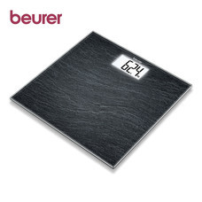 Beurer Glass Bathroom Scale GS203 Slate
