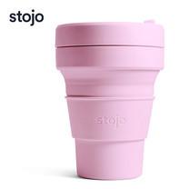 STOJO แก้ว Pocket Cup 12 oz - Carnation