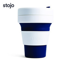STOJO แก้ว Pocket Cup 12 oz - Indigo