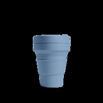 STOJO แก้ว Pocket Cup 12 oz - Steel Blue