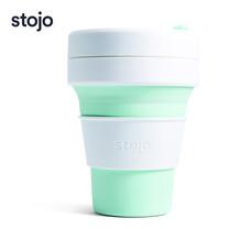 STOJO แก้ว Pocket Cup 12 oz - Mint