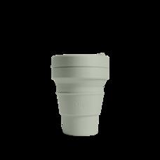 STOJO แก้ว Pocket Cup 12 oz - Sage