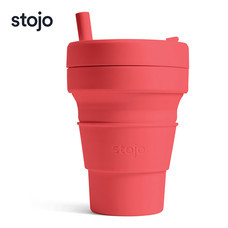 STOJO แก้ว Biggie Cup 16 oz - Coral